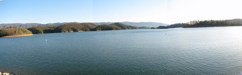 Panoramic Shot of the Holston Lake