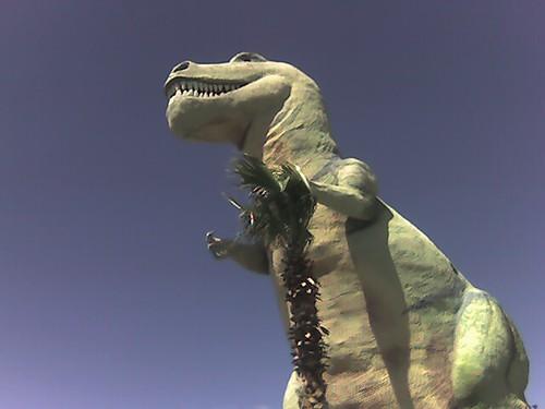 Dinos from Pee Wee's Big Adventure