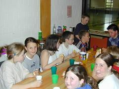 Die Jugend beim Essen