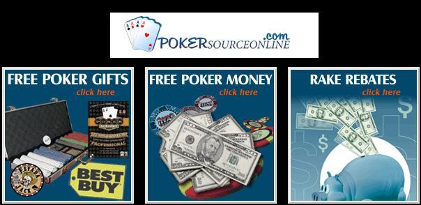 No deposit free money poker sites
