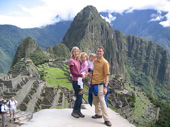 Smiths at Machu Picchu