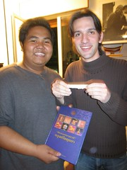 Yianni won Grand Prize.... Ayutthaya agenda book in English!!