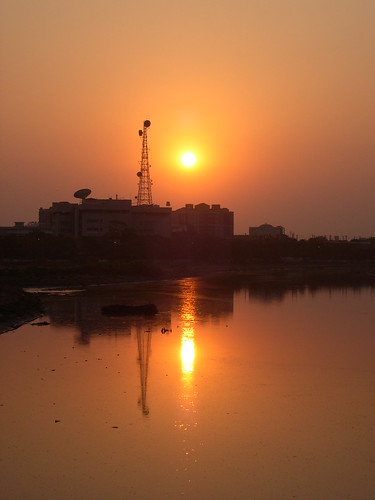 Sunset, Chennai
