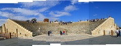 Kourion Theater Collage