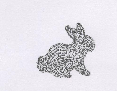 binary bunny