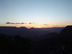 The Grand Canyon at Dawn