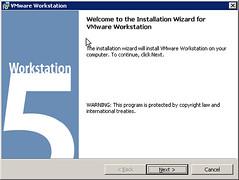 安装vmware 5.5.1-19175