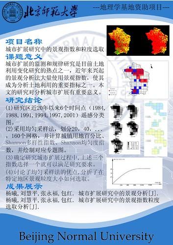 地理学基地项目_杨曦_展板