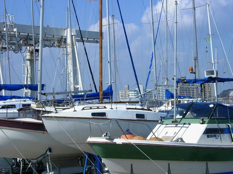 Enoshima's marina.