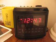 picture of my clock at 12:47 am
