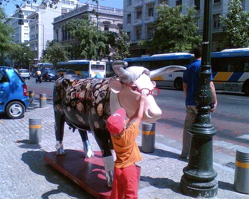 Belesene Kuh