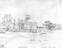 Kirche vom östlichen Dorfanger