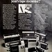 Seventeen Magazine, Oct 1972 - tape deck ad