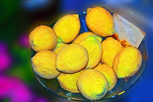 Festive lemons