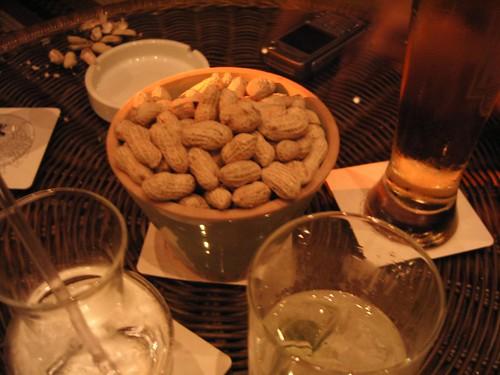 Peanuts & drinks