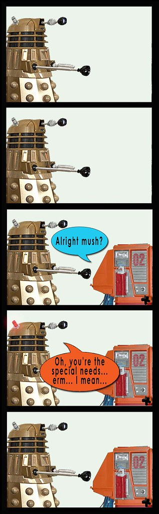 Dalek and Cylon 4 party