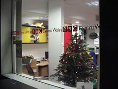 Coeden Nadolig, Stiwdio BBC Cymru, Aberystwyth