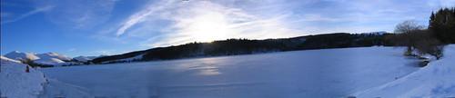 lac de guery en bandeau panoramique