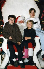 A little older, a little less impressed by Santa