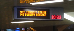 Last night of the transit strike