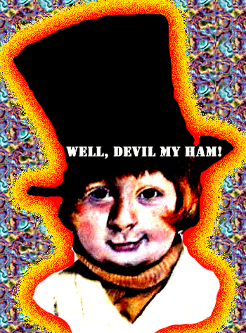 Flaming psychedelic Mason Reese