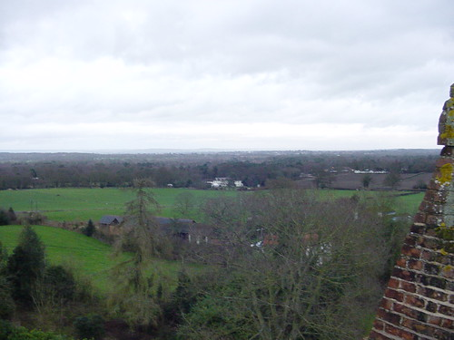 View North-East from the Church Tower