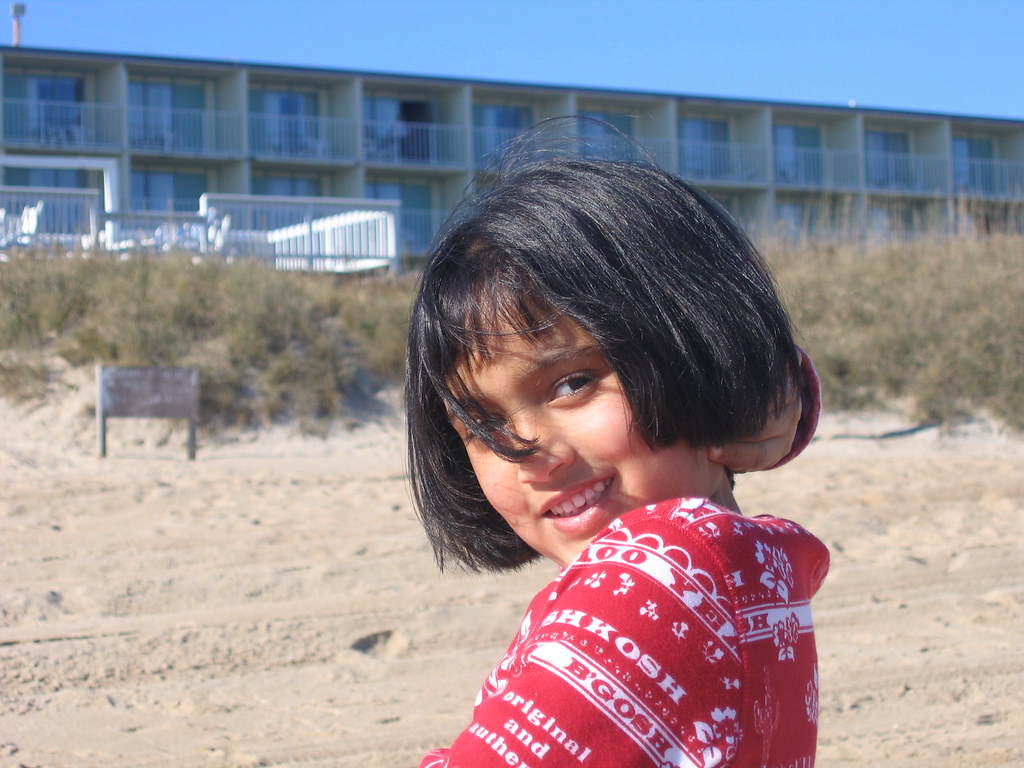 sanju   in outerbanks sand