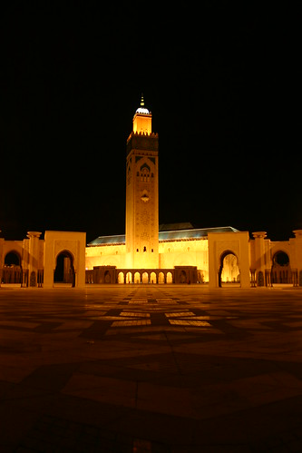 Hassan II Mosqu, Casablanca