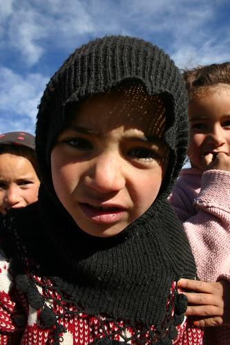 Local berber girl in Imilchil, High Atlas