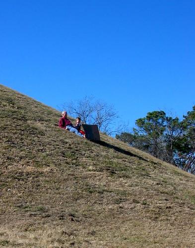moundsledding