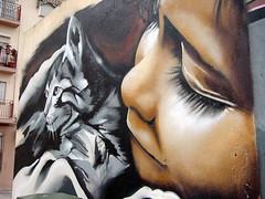 Graffiti: paisajes animales y humanos