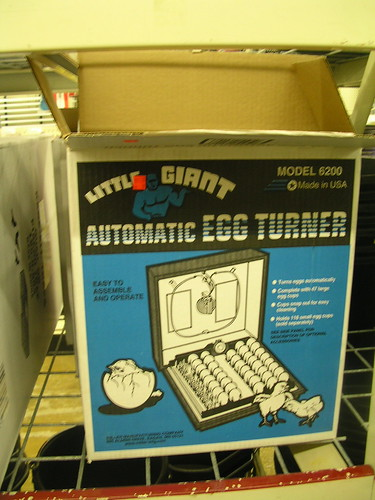 Automatic Egg Turner
