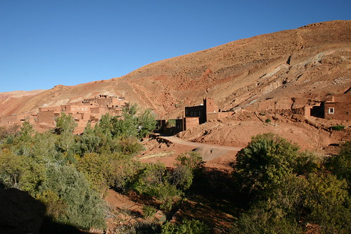 The village of Achehoud where I stayed overnight - very hospitable and caring berber family