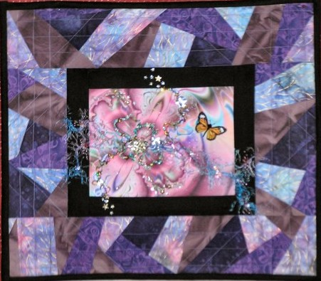 Purple Art Quilt