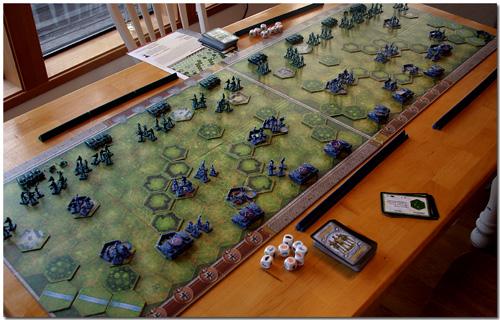 Memoir 44 Overlord Setup