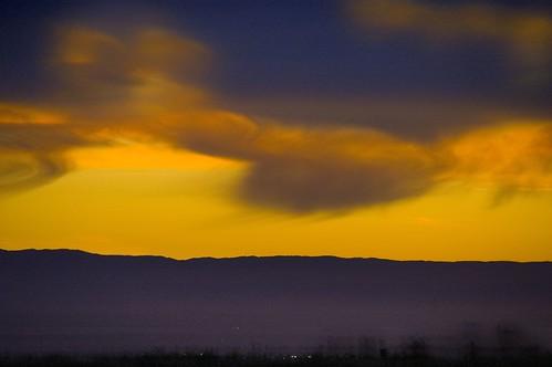 Sunset near Bakersfield 3