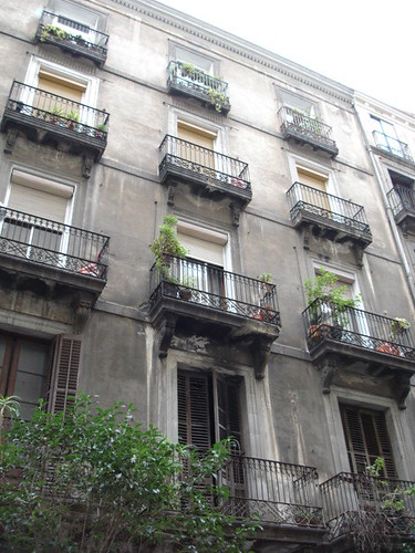 Gorgeous buildings in Barcelona