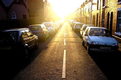 Street and Sun