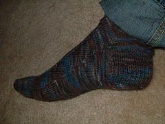 Jaywalker heel