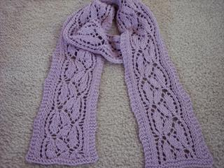 Dayflower Lace Scarf