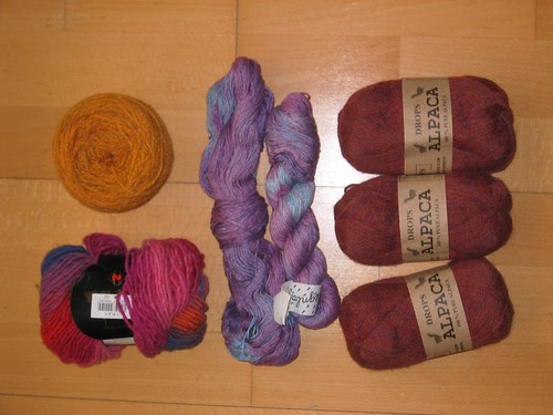 Toda la lana que recibí ayer