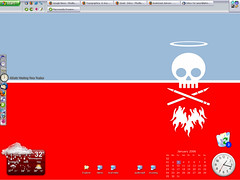 How the desktop looks these days