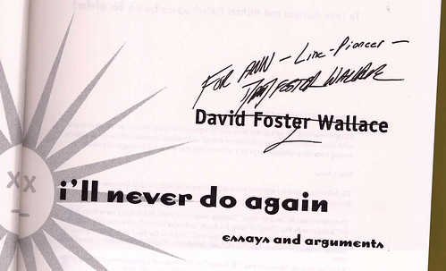 Free Essays & Stories by David Foster Wallace on the Web