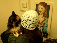 picasso likes my new hat too