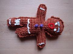 muñeco de jengibre