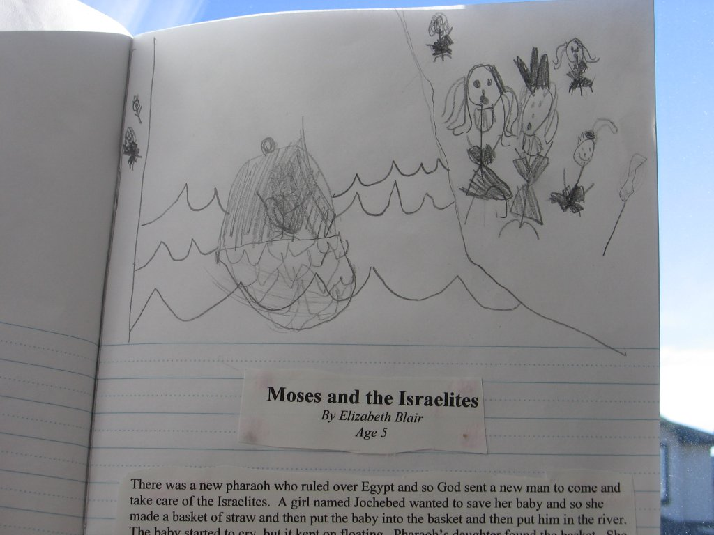 elizabeth's picture of moses