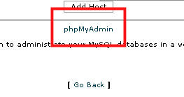 phpMyAdmin SQL MySQL