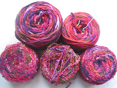 Danette Taylor yarns for a sweater