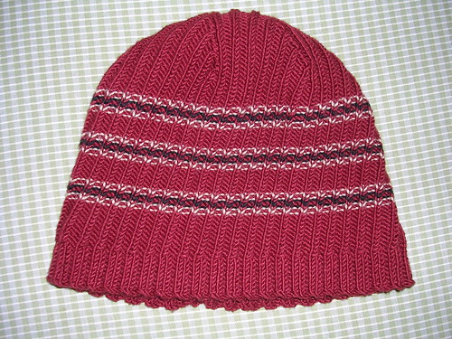Hat for Andrew - right side