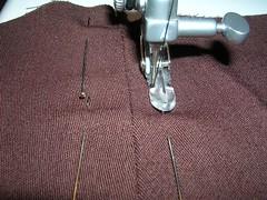 Skirt zip right side